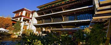 Four-star Songtsam Hotel in Shangri-La - Yunnan province, China